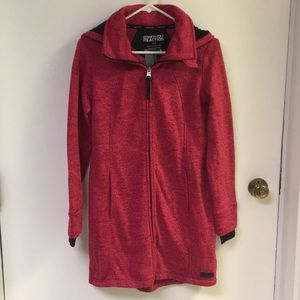 Kenneth Cole Reaction Heathered Red Jacket