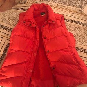 J. Crew Puffy Vest