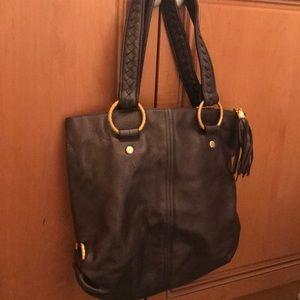 Metallic colored Elliott Lucca bag