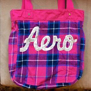 Aero Plaid Pink Bag