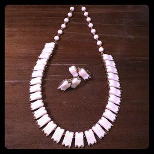 🍭80s Vintage Retro Earring & Necklace Set🍭