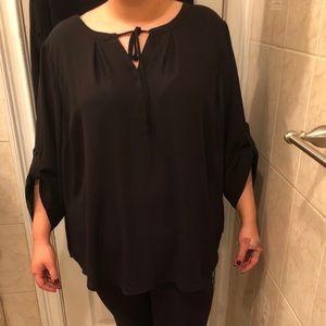 Torrid chiffon blouse
