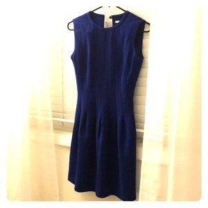Fitted Royal Blue Dress!