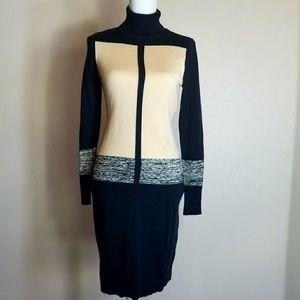 Narciso Rodríguez Turtle Neck Sweater Dress XS