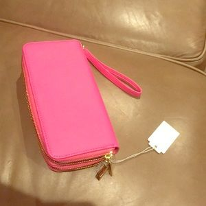 Handbags - Rare brand new with tags hot hot pink leather like
