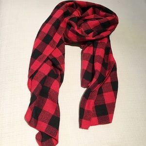 Forever 21 Red Buffalo Check Scarf