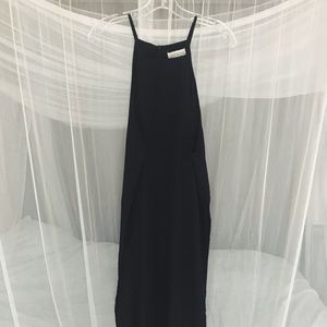 Black tunic top- size S