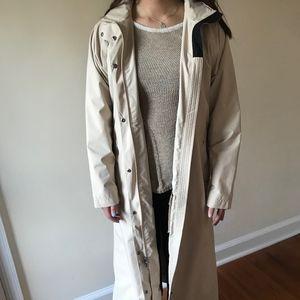 L.L. Bean Long Rain Coat