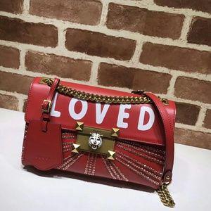 Gucci Red LOVED Shoulder Bag