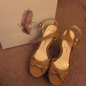 Jessica Simpson heels new with box 8.5