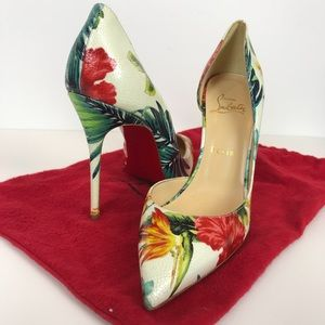 Christian Louboutin Hawaii NWOB Red Bottoms 39.5