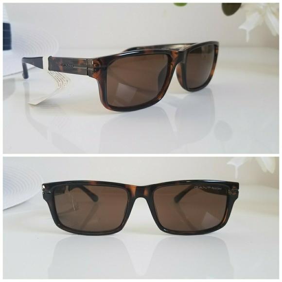 5bfb6959d14 GANT GA 7059 Polarized Sunglasses 52H Dark Havana