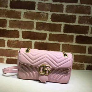 Gucci Marmont Pink Handbag