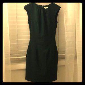 Emerald Forest Green Shift Dress