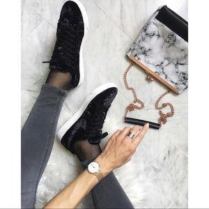 Nike Black Velvet Lo Blazer LX Sneakers