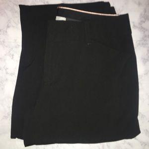 Women's Black GAP Curvy Trouser Pant