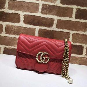 Gucci Pearl GG Shoulder Bag