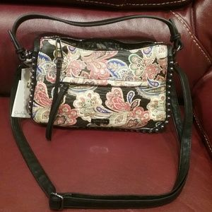 NWT Colorful Bag w/Removable Strap Firm Price