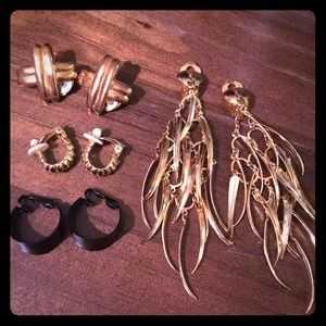 🍿Sexy Vintage Clip-On Earring Bundle🍿