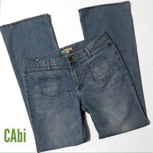 CAbi Malibu Flair Soft Lightwash Lightweight Jeans