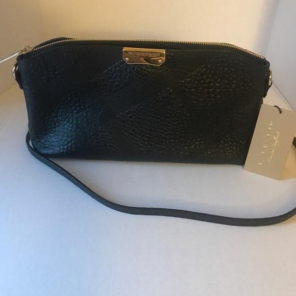 Burberry Bags   Sg Grain Check Small Chichester Black   Poshmark 7622edf6e9