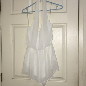Lush white dress shirt