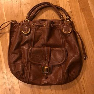 Authentic Juicy Couture Brown tote purse