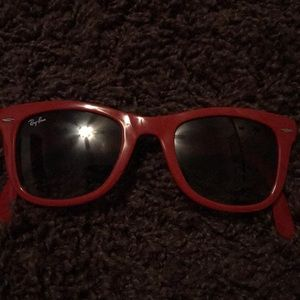 Red Raybans