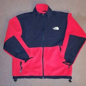 The North Face boys size L Denali zip up jacket