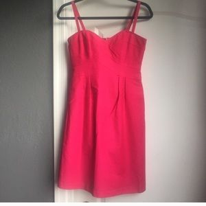 Nanette Lepore hot pink mini dress