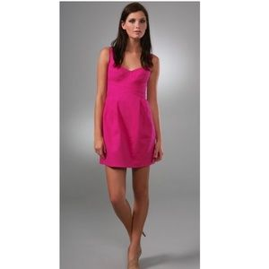 Nanette Lepore Dresses - Nanette Lepore hot pink mini dress