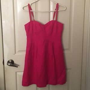 Nanette Lepore Dresses - Nanette Lepore hot pink mini dress