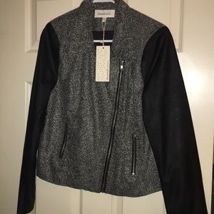 Moto jacket. Size large.