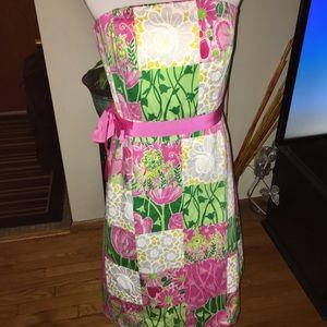 Lilly Pulitzer sienna derby scalloped dress