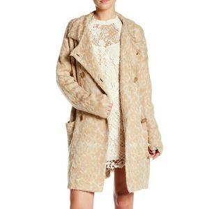 FREE PEOPLE WILD THING Sweater Coat size M NWT