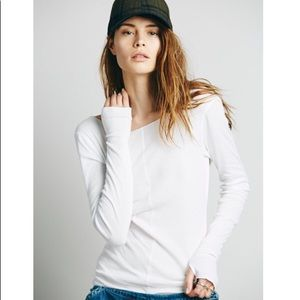 Free People Sweet Dream Layering Top White