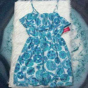 NWT Lilly Pulitzer Sea Urchin Starfish Print Dress