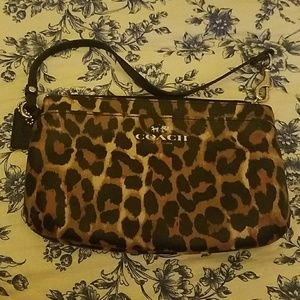 Coach wristlet and card case