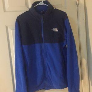 Blue NorthFace jacket