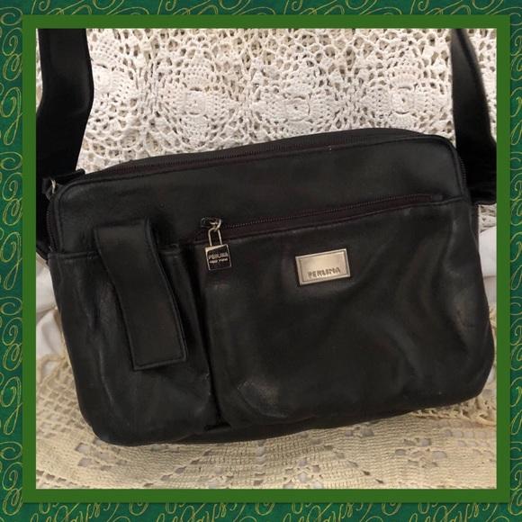 246c949917f1 Perlina Black Buttersoft Leather Shoulder Bag