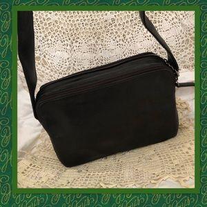 f311e478d3d7 Perlina Bags - Perlina Black Buttersoft Leather Shoulder Bag
