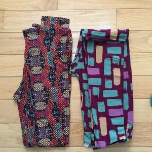 LuLaRoe OS bundle leggings