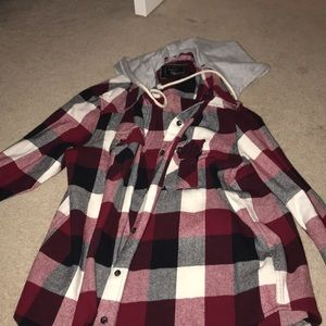 Flannel with Hood