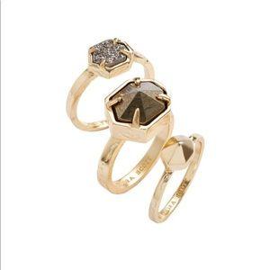 Kendra Scott Mariam stackable rings