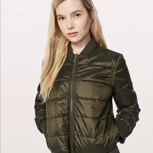 Non Stop Bomber Jacket Army Green