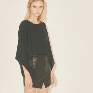 Iro S17 leather skirt NWT