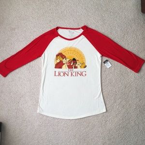 Rue 21 Disney Lion King Baseball Style Shirt