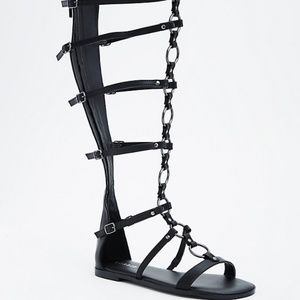 Torrid New in box Gladiator Show Stopping Sandals
