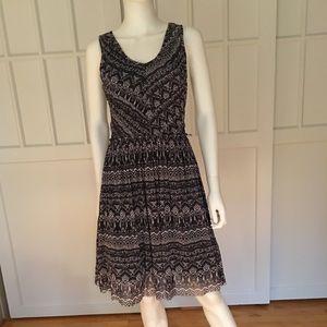 Anthropologie Weston Wear Pleated Vera Dress