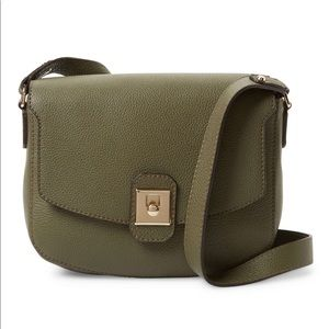 SOLD Furla Jo M Leather Crossbody Bag,Green $368
